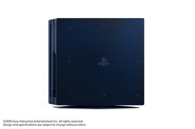 PS4 500 Million zijkant