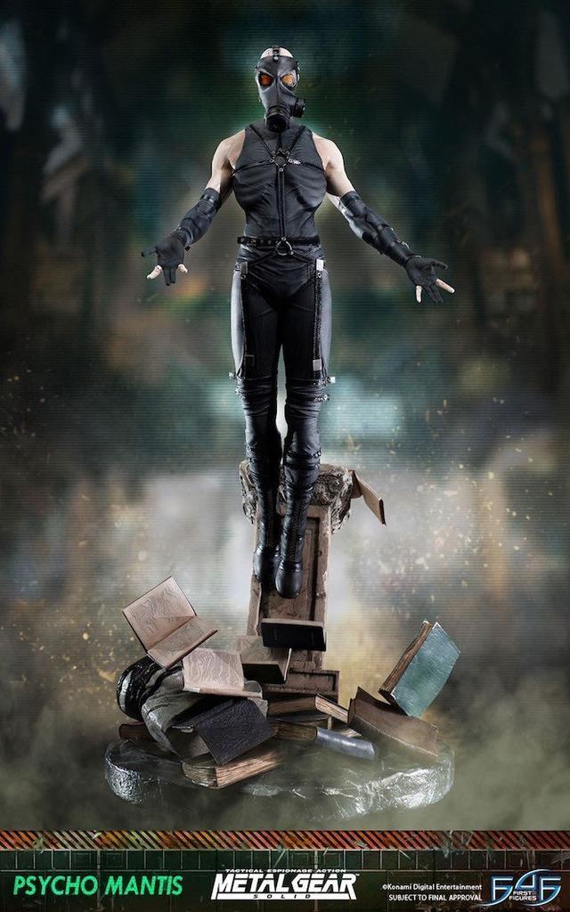 Psycho Mantis Standard Statue