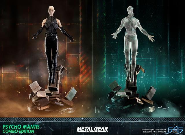 Psycho Mantis Combo Edition Statues
