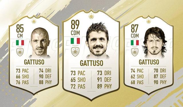 Gattuso Fifa 19 Icon Fut