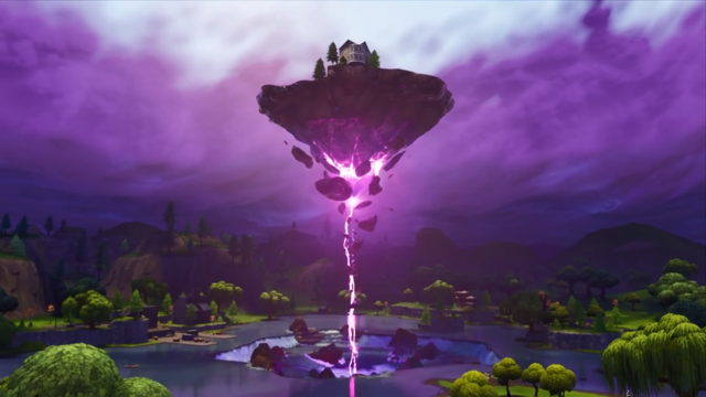 Floating Island Fortnite Season 6