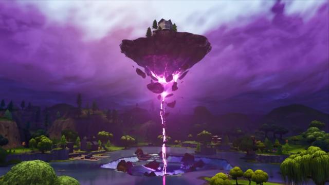 Floating Island Fortnite Season 6