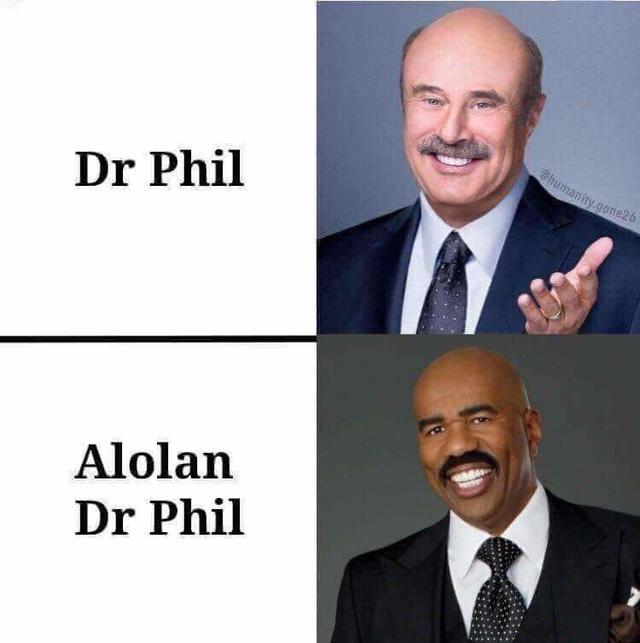 Alolan form Dr. Phil