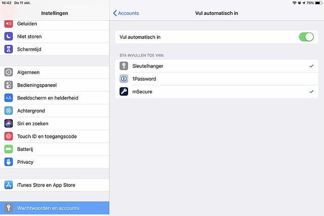 Zo voeg je snel een wachtwoordbeheerder toe in iOS 12