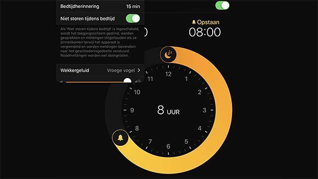Slaap rustiger dan ooit dankzij Bedtijd in iOS 12
