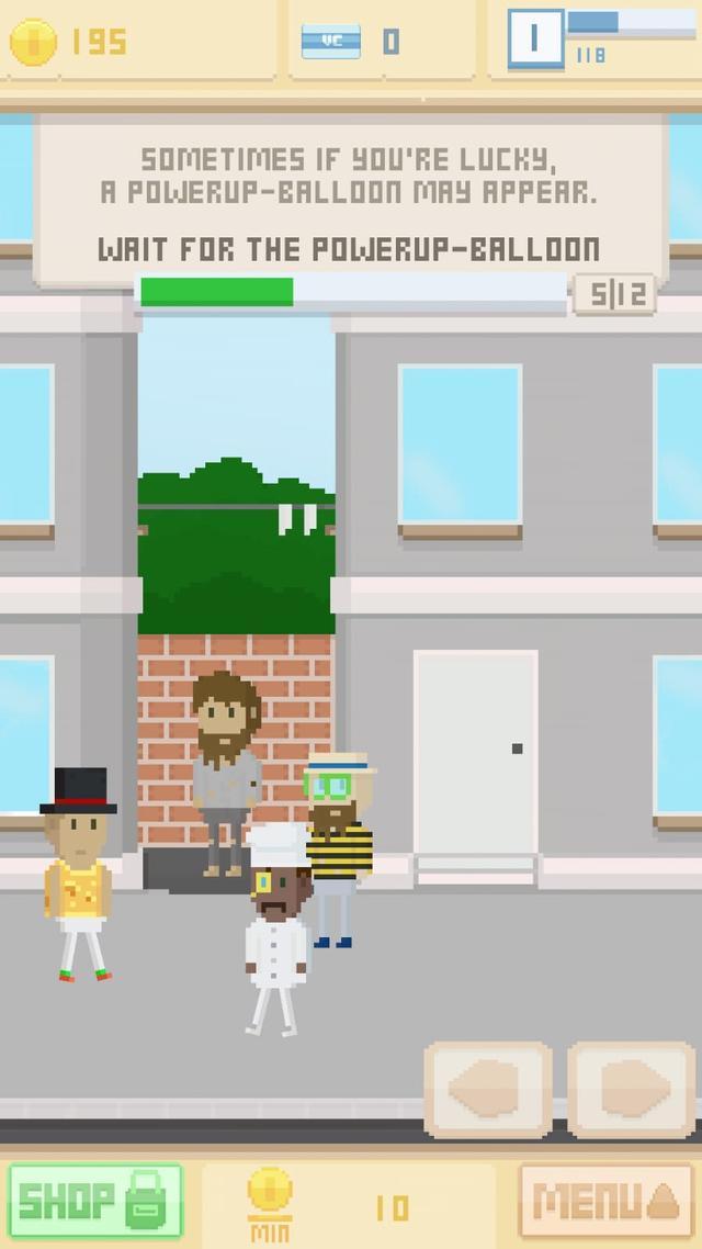 App tegen verveling: Virtual Beggar