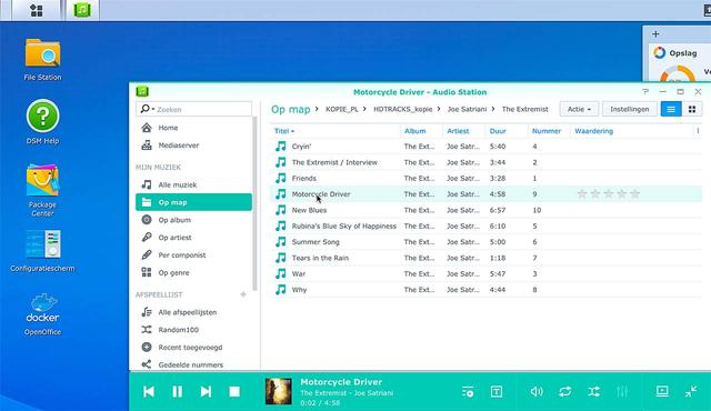 Stream muziek met Audio Station van Synology | Apps & Software