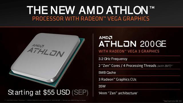 AMD Athlon 200GE-processor