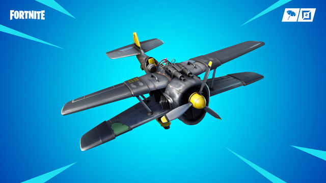 X-4 Stormwing Plane in Fortnite Season 7