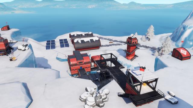 Frosty Flights in Fortnite Season 7