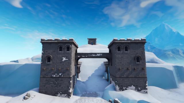 Polar Peak in Fortnite Season 7