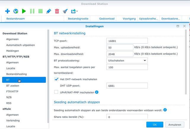 Download Station draait op een Synology NAS en neemt zo ongeveer elke denkbare downloadtaak onder z'n hoede