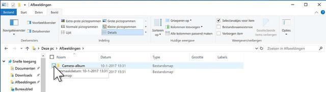 Gebruik eens selectievakjes in de Windows Verkenner