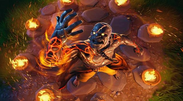 Fortnite Fire King