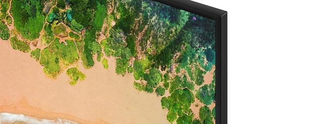 Samsung UE55NU7100W close up