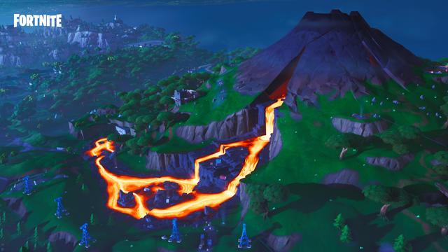 Volcano Fortnite Season 8