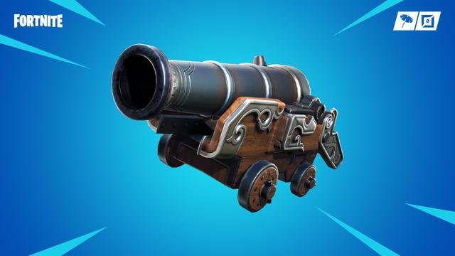 Pirate Cannon Season 8 Fortnite