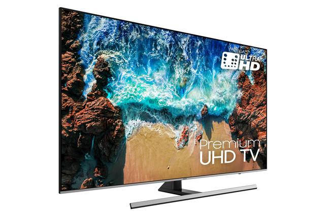 Samsung UE55NU8000 review voorkant