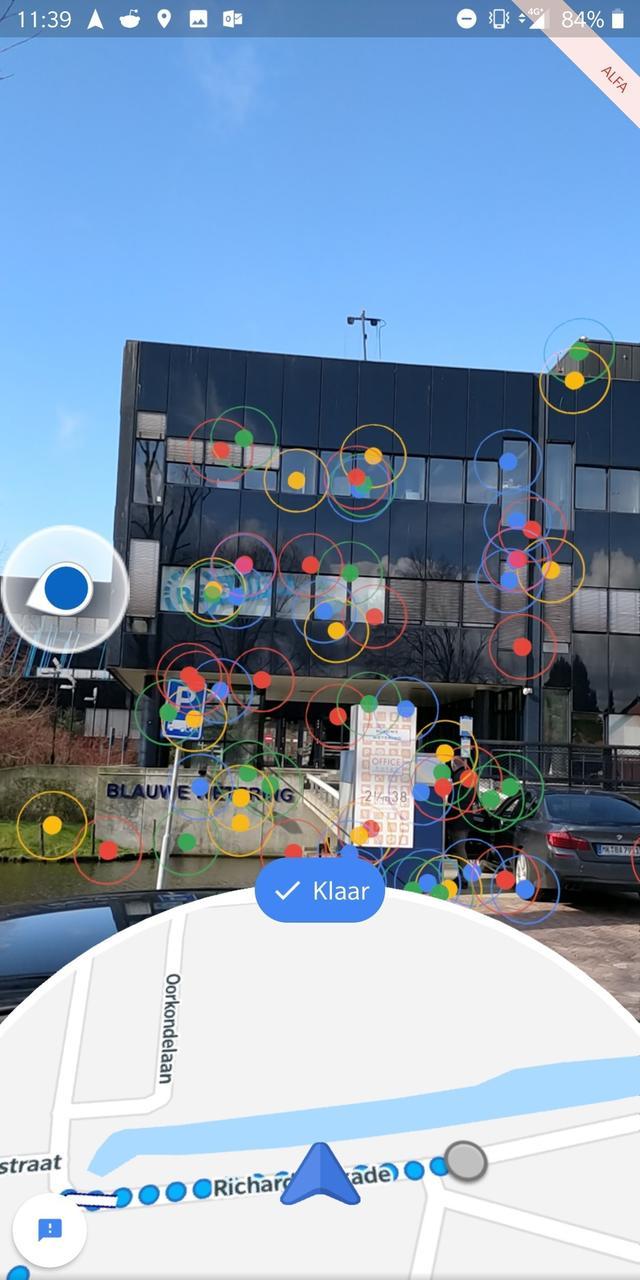 google maps ar scan