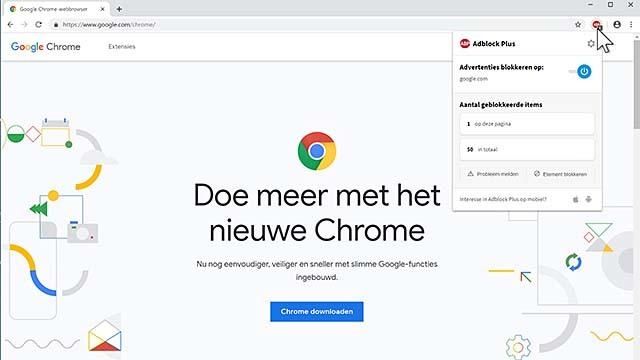 Google Chrome is momenteel de meest populaire browser