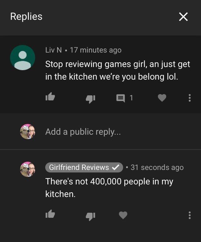 girlfriend reviews