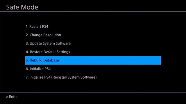 Rebuild PS4