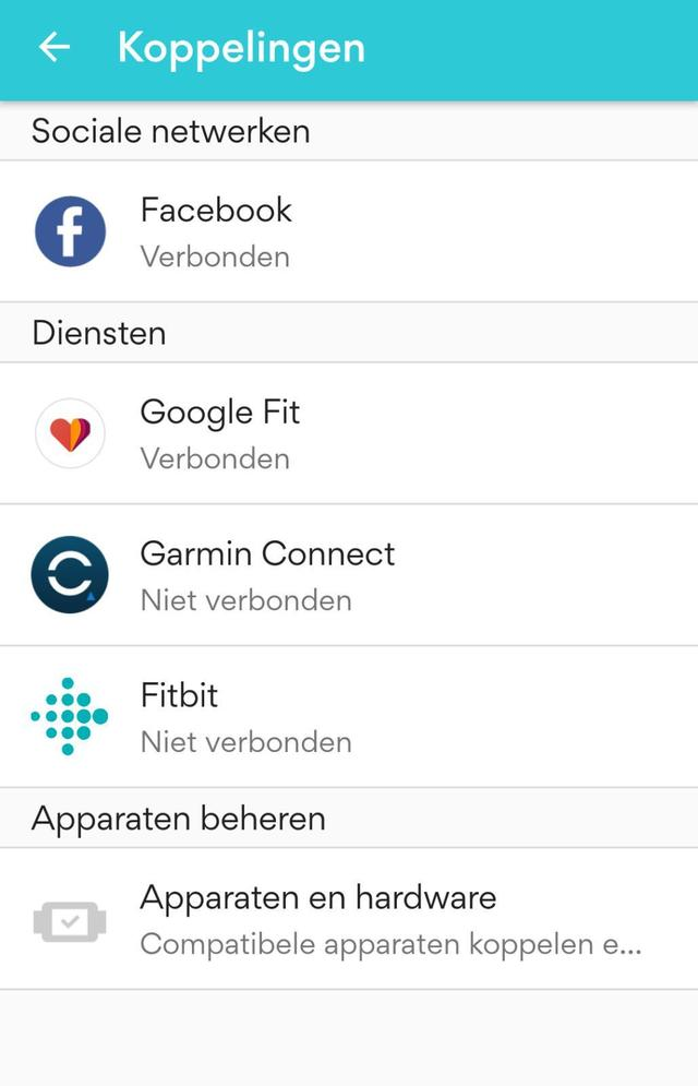 Google Fit Smartphone