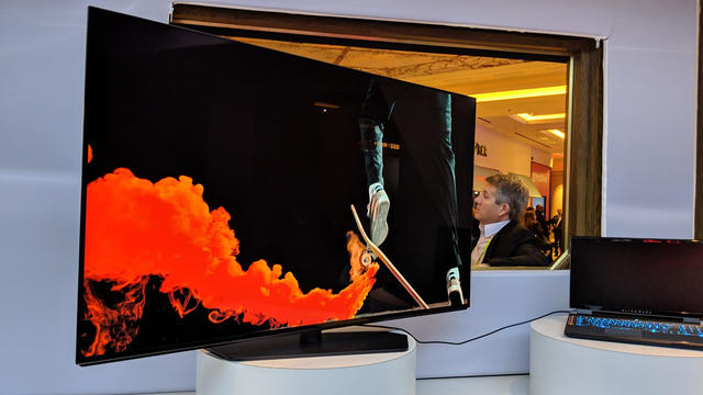 Dell Alienware 55-inch OLED monitor