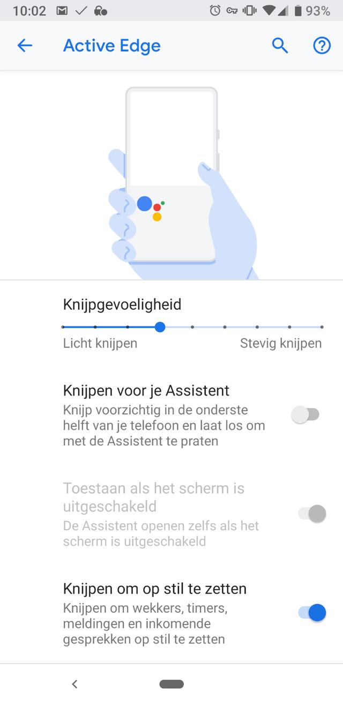 Google Pixel 3A screenshot