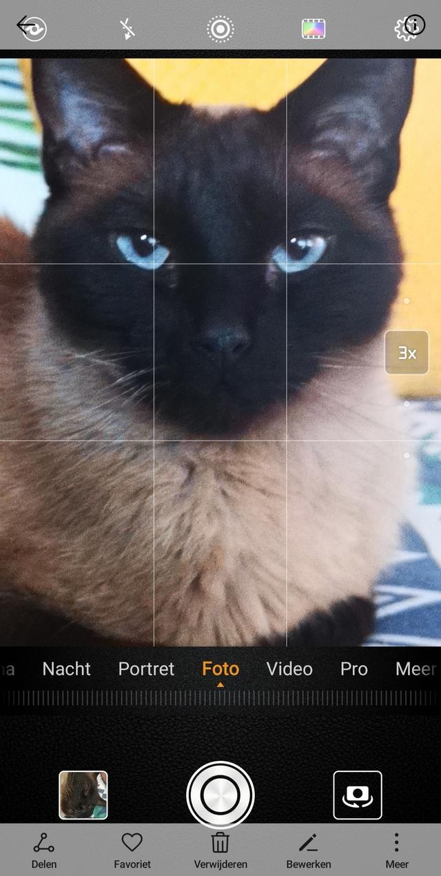Zoomen met de smartphone.