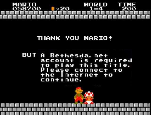 Mario bethesda