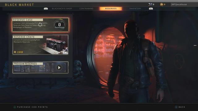 Lootbox Call of Duty Black ops 4