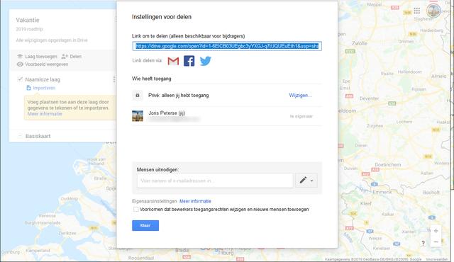 Google Maps My Maps