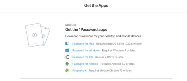 1 password app