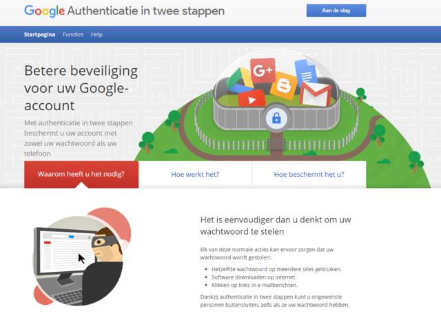 Google authenticatie