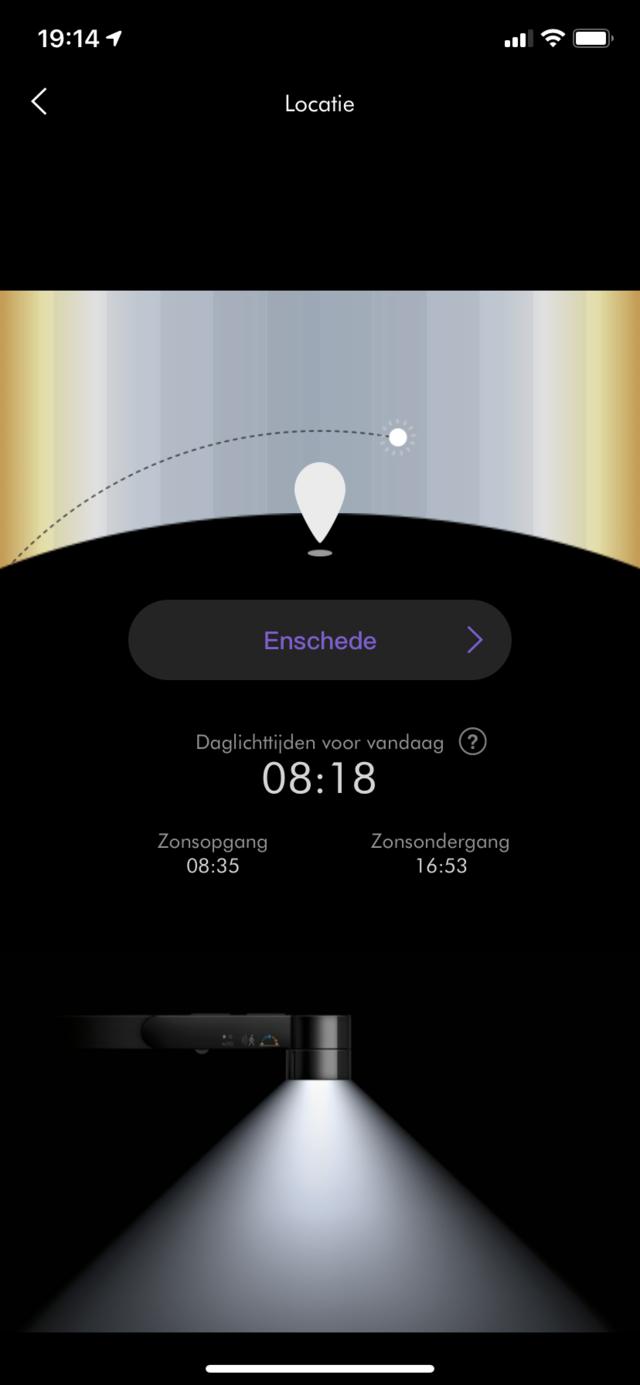 Dyson Lightcycle App