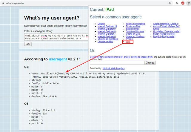 User agent