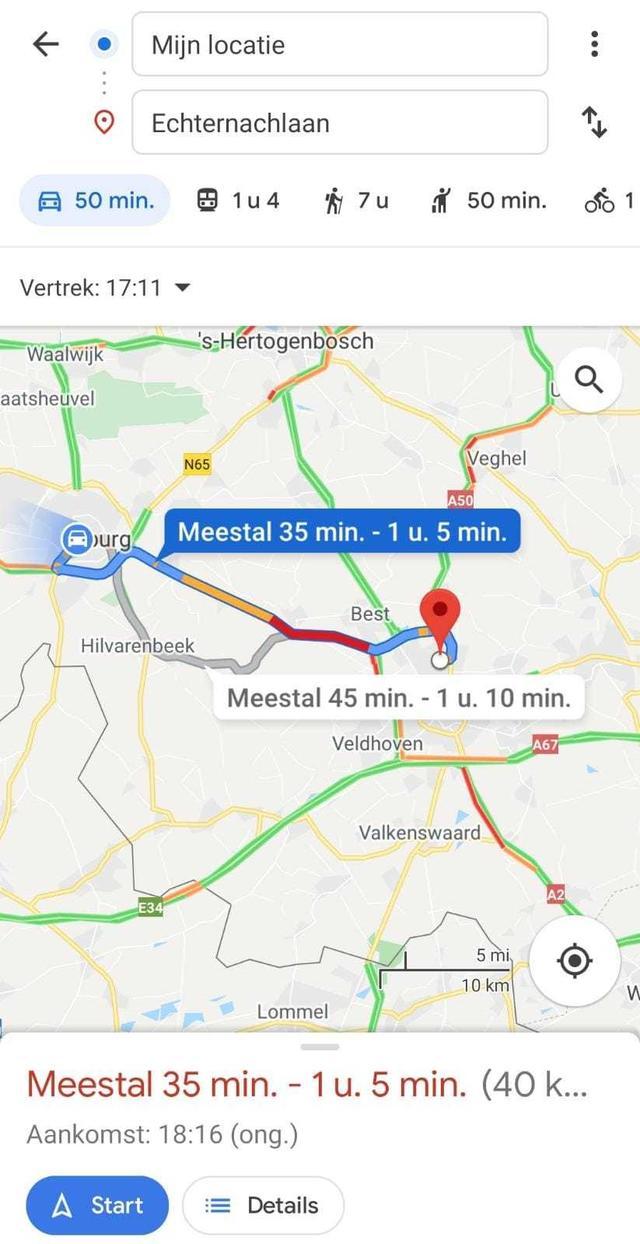 Google Maps tip
