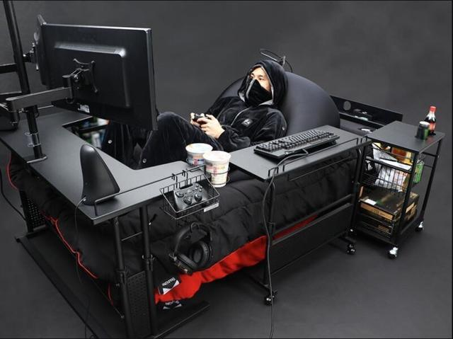 Bauhutte Game bed