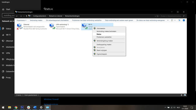 Wifi wachtwoord Windows 10 achterhalen