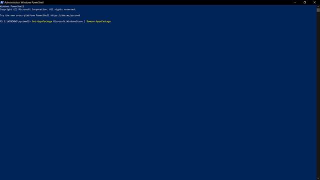 Microsoft Store problemen