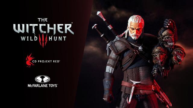 Witcher 3 Mcfarlane toys
