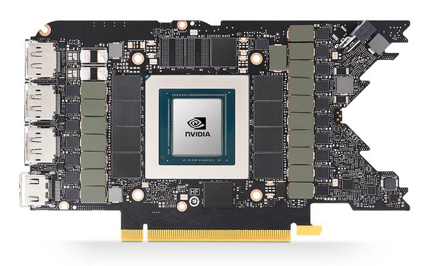 Referentieprintplaat van de Nvidia RTX 3080 Founder's Edition