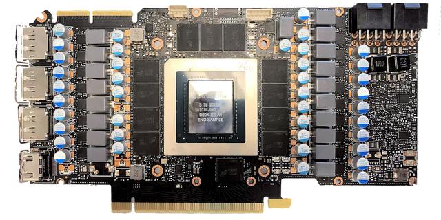 Referentieprintplaat van de Nvidia RTX 3090