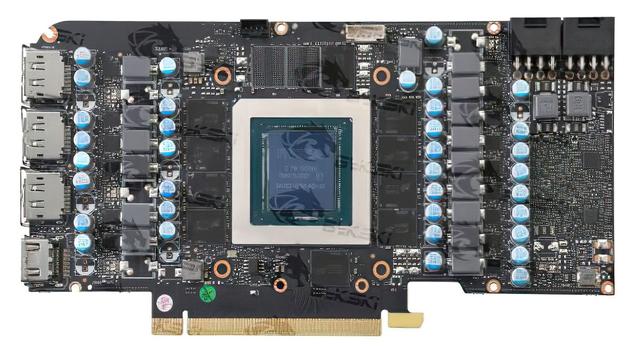Referentieprintplaat van de Nvidia RTX 3080