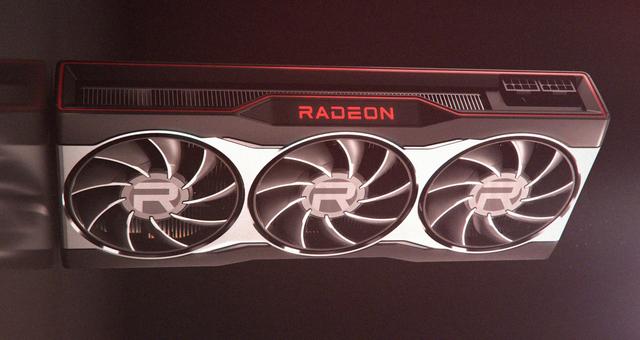 3D-render van de aanstaande Radeon RX 6000-videokaart van AMD