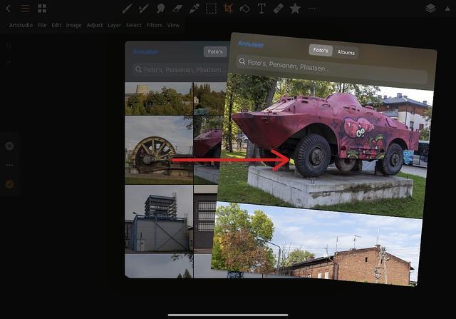 Eindelijk kun je ook fatsoenlijk zoomen in de previews die je ziet in de importeer-dialoog van een app.