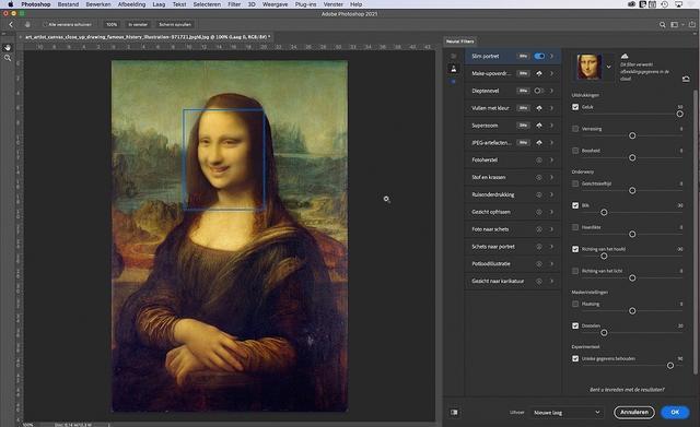 Als Mona echt wil, kan ze een stuk vrolijker kijken!
