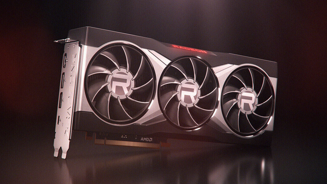 Productfoto van de AMD Radeon RX 6900 XT-videokaart.