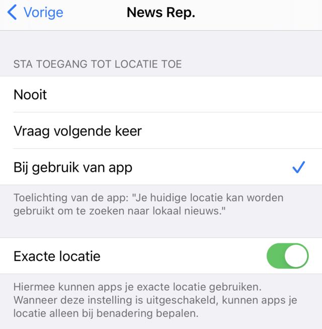 iOS veiligheid